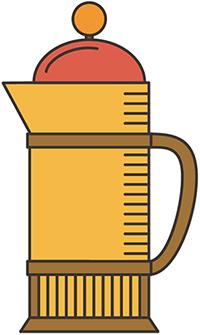 Cómo hacer café en una cafetera de émbolo francés
