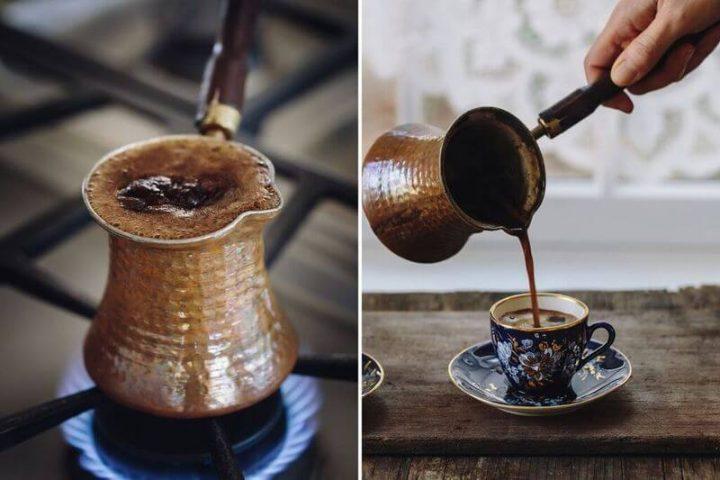 Cómo hacer café turco en casa
