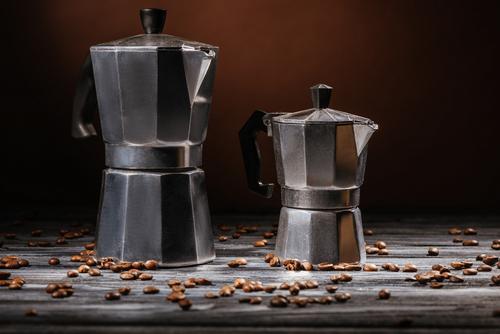 Cafeteras de aluminio más vendidas también conocidas como moka pot